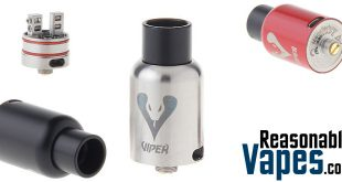 Authentic Delivape Viper RDA