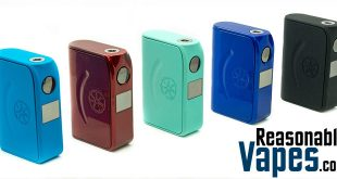 Authentic asMODus Minikin 120W TC Box Mod