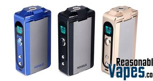 Authentic Aspire Perseus 150W TC Box Mod