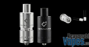 Authentic Ceravape Cerabis Ceramic Coil Sub-Ohm Tank
