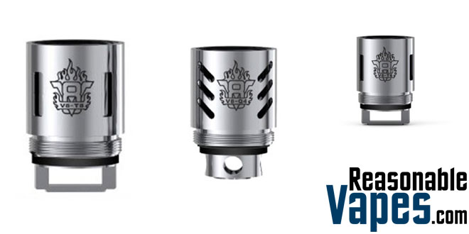 Authentic Smok TFV8 Coil Heads - 3 Pack