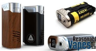 Authentic IJOY Limitless LUX 215W Dual 26650 Mod