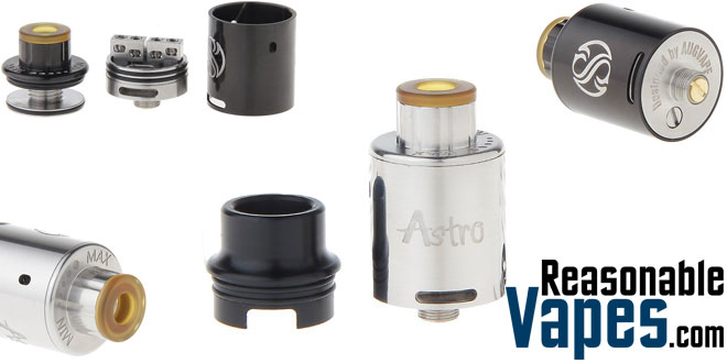 Authentic Augvape Astro RDA