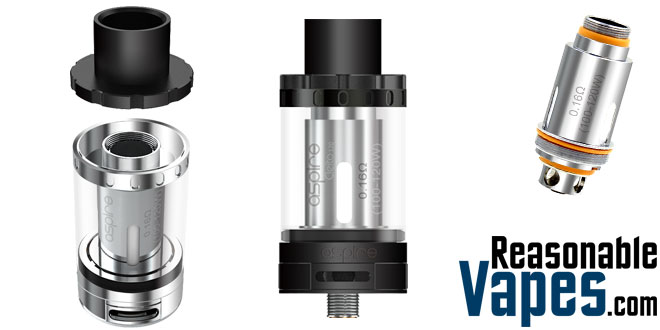 Authentic Aspire Cleito 120 Sub-Ohm Tank