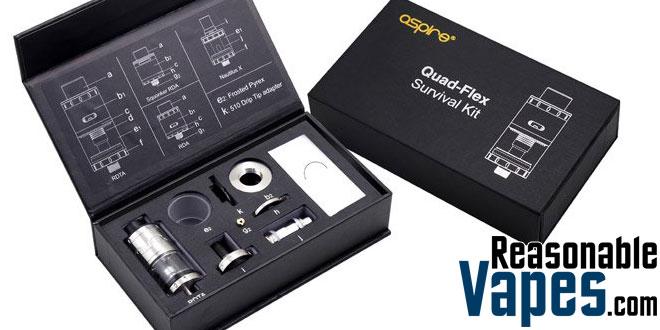 Authentic Aspire Quad-Flex Survival Kit