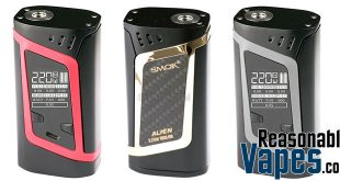Authentic Smok Alien 220W Box Mod