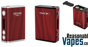 Authentic Smok Treebox Plus 220W Box Mod