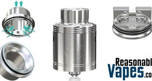Authentic Wismec Neutron RDA