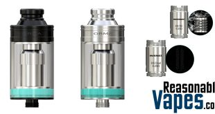 Authentic Wismec ORMA Sub-Ohm Tank