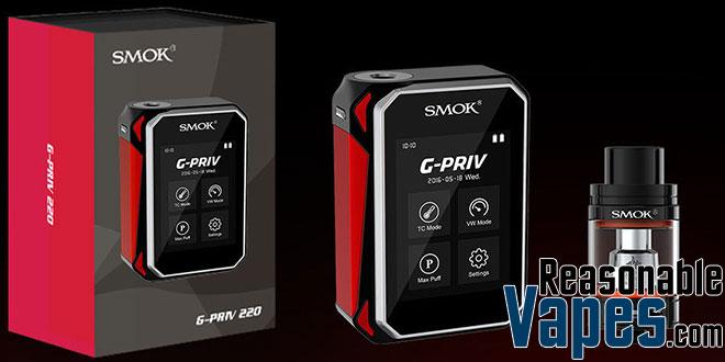 Authentic SMOK G-Priv 220W Box Mod