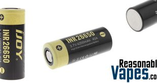 Authentic iJoy INR 26650 Batteries