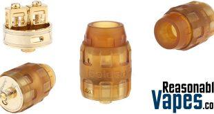 Authentic Serisvape Golden Armor RDA