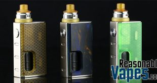 Authentic Wismec Luxotic Squonk Mod & Kit