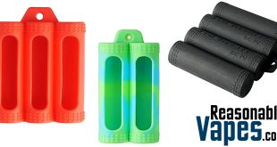 Authentic Coil Master Silicone Battery Cases