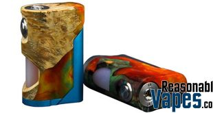 Authentic Arctic Dolphin Soul Stabilized Wood Squonk Mod