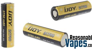 Authentic IJOY 21700 3.7V 3750mAh Batteries