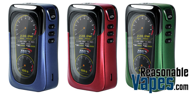 Authentic REV GTS 230W Box Mod
