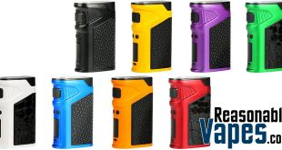 Authentic Uwell Ironfist 200W Box Mod
