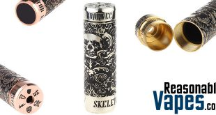Marvec Skeleton King Kong Mechanical Mod